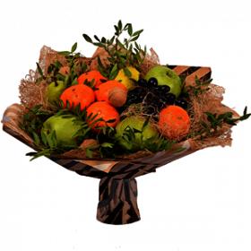 Мастер-класс букет из фруктов